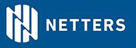 Netters með bláum bakgrunni og texta hægra megin - Small header web.png